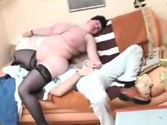 Fat russian mother with large breasts