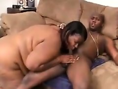 Nasty black fat woman
