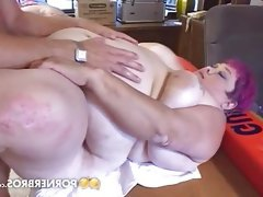 Bbw lifeguard gets banged on a desk
