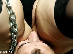 Lucrecia\'s anal pleasures with her slave