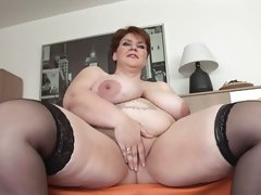 Unforgettable shorthair-bbw milf..