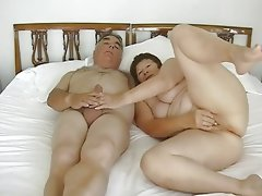 Mature exhibitionist couple..