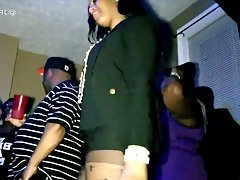 House party crazy big booty in purple..