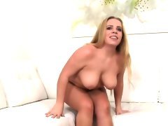 Blonde amateur bbw blowjob casting